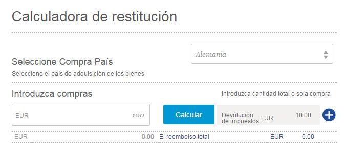 calculo tax free