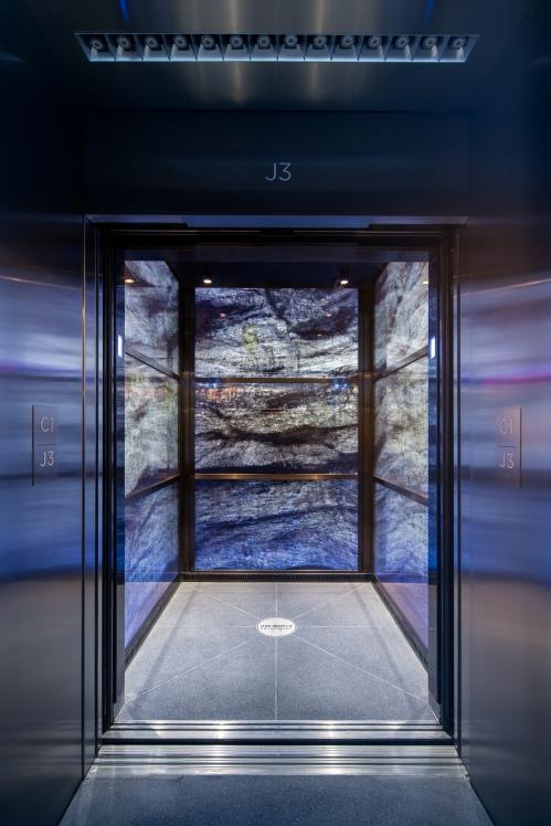 Entrance to Elevator