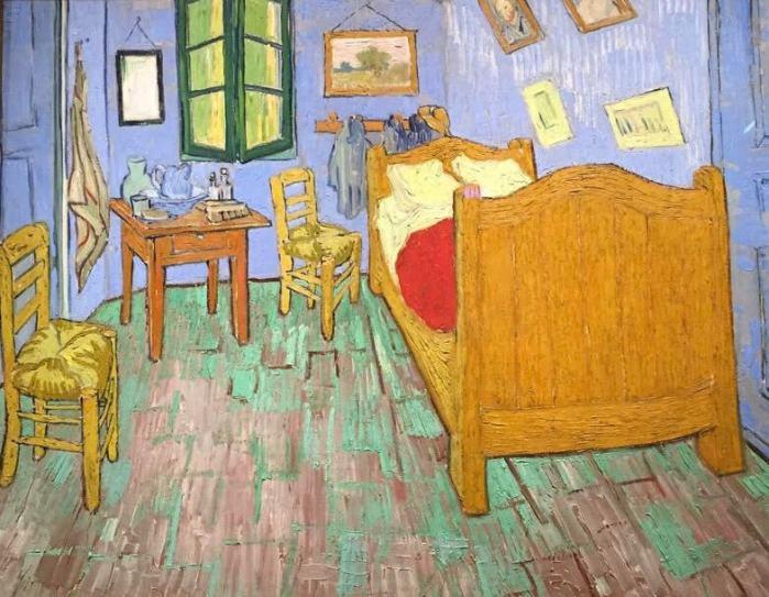 El dormitorio en Arlés de Van Gogh