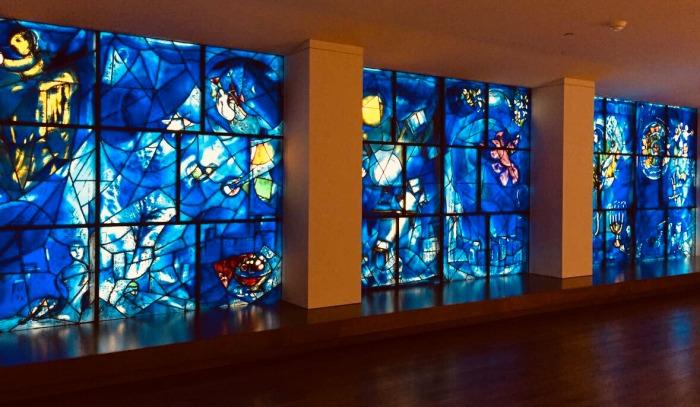 Ventanas de los Estados Unidos de Marc Chagall