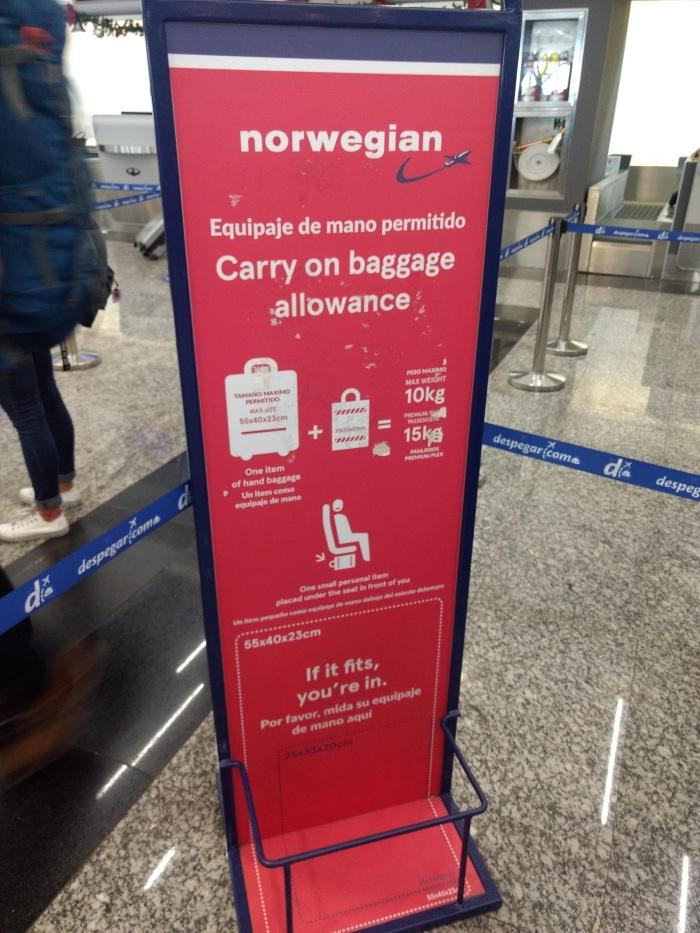 norwegian-equipaje
