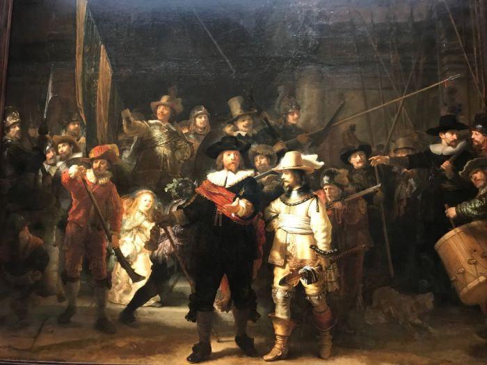 14-La Ronda de Noche 1642