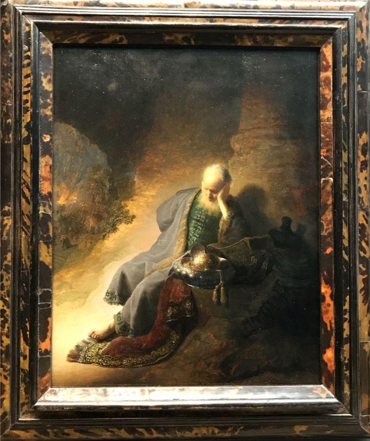 16-Jeremías lamenta la destrucción de Jerusalem 1630
